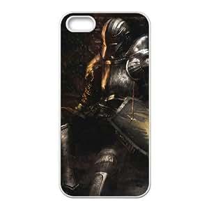 Demonio de Almas 13 Caso del iPhone 5 5s teléfono celular funda blanca del teléfono celular Funda Cubierta EEECBCAAB07329