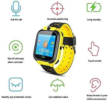 Tenlso Smartwatch Niños, Reloj Inteligente para Niños Impermeable ...