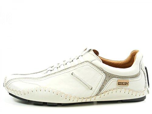Pikolinos 15A-6039 Fuencarral Zapatos Mocasines de cuero para hombre blanco