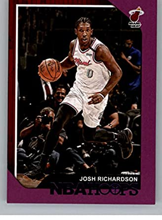 online store 8807c 9f206 Amazon.com: 2018-19 NBA Hoops Purple #197 Josh Richardson ...