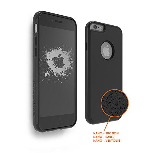 SHOP STORY - Coque Protection Anti-gravité avec Nano Ventouse pour une Adhérence sur Surfaces Lisses pour iPhone 5 / 5S