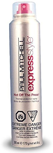 Paul Mitchell Hot Off The Press Thermal Protection Hairspray 6 oz (Pack of 6) by Paul Mitchell