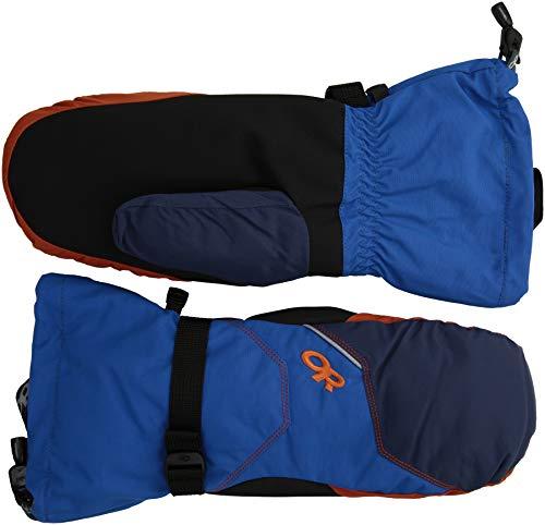 Outdoor Research Men's Adrenaline Mitts, Cobalt/Naval Blue/Burnt Orange, XL