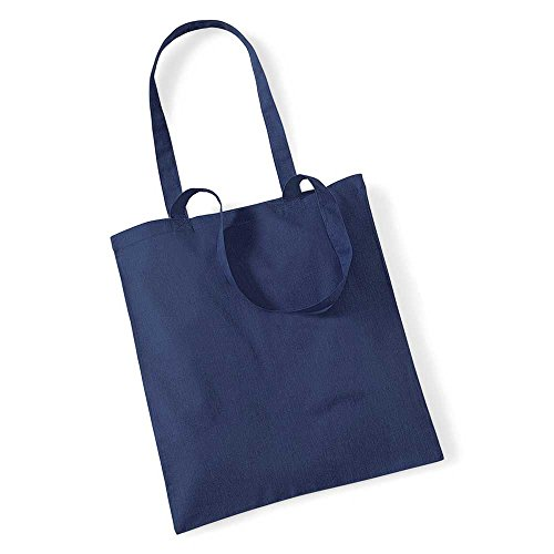Westford Mill Promo Colours Shopping Bag For Life French Navy