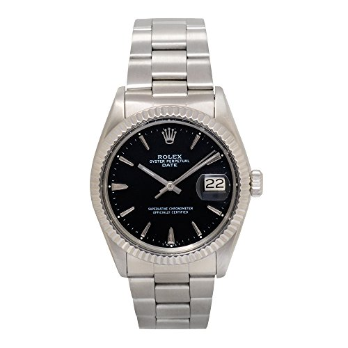 Rolex Date automatic-self-wind mens Watch 1500 (Certified Pre-owned)