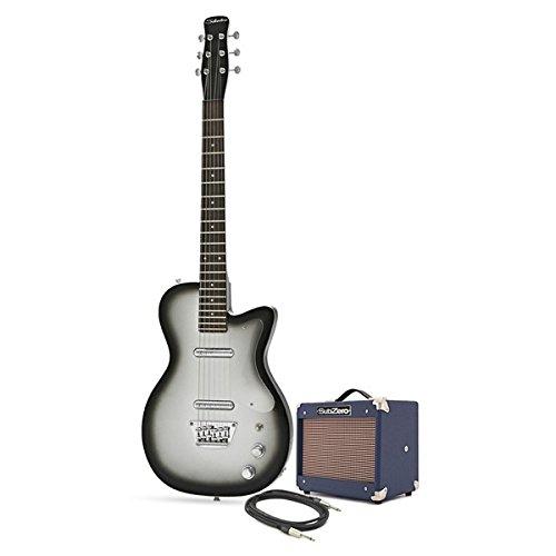 Silvertone 1303/U2 Eléctrica + Pack de Ampli SubZero Tube 5 Plateado: Amazon.es: Instrumentos musicales