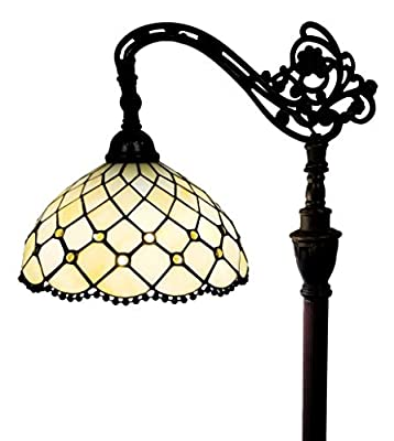 Amora Lighting AM121FL12B Floor Lamp