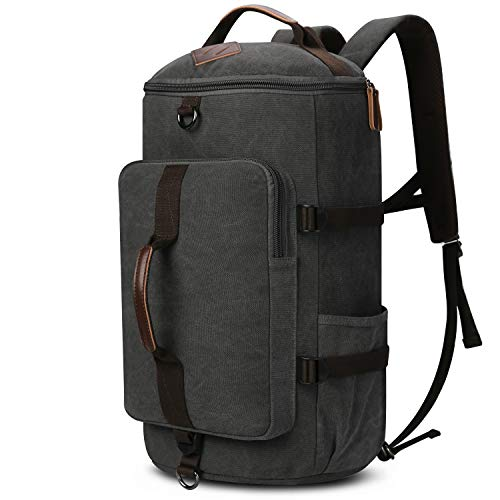 Yousu Large Canvas Travel Backpack Rucksack