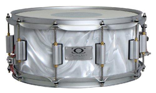 Drum Craft Series 7 DC837082 Maple 10 x 6 Inches Snare Drum, Liquid Chrome by Drum Craft