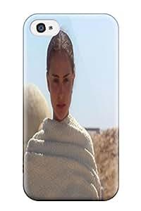 New Tpu Hard Case Premium Iphone 4/4s Skin Case Cover(star Wars Natalie Portman Padme Amidala)