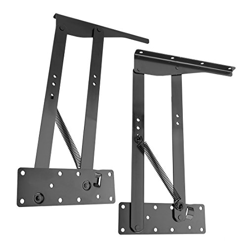 (uxcell Lift up Top Coffee Tea Table Desk Furniture Mechanism Bracket 1 Pair, 350mm/13.78
