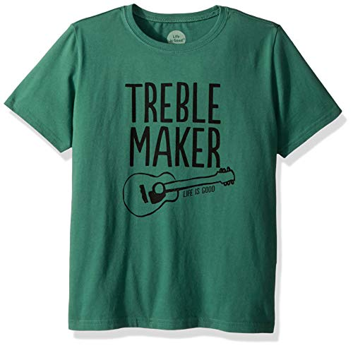 - Life is Good Boys Crusher Graphic T-Shirt Collection,Treble Maker,Large