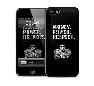 Money Power Respect Scar Face iPhone 5 / 5S protective case