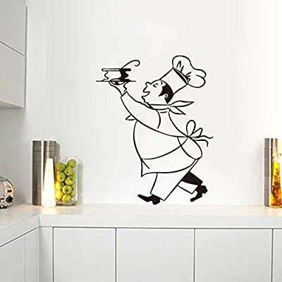 Stickers Cuisine Chef Vinyl Wall Decals Sticker Mural Wall Art