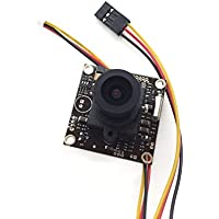 DC12V 1/3 960H PAL CCD HD 700TVL 2.8mm Lens Wide Angle Camera for FPV Menu OSD