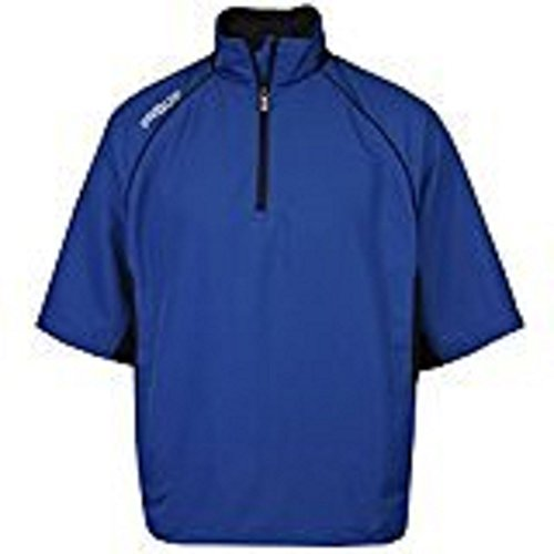 ProQuip Golf - Men's UltraLite Half-Sleeve Pullover (1/2 Zip) - Water & Wind Repellent - Blue - M