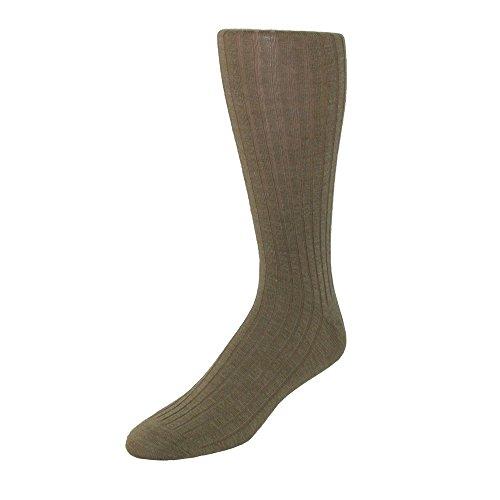 Windsor Collection Men's Merino Wool Over the Calf Dress Socks, ()
