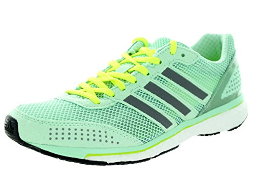 check out 8c7a1 45ac0 Adidas Adizero Adios Boost 2.0 Running Sneaker Shoe - Donna Menta   Bianco