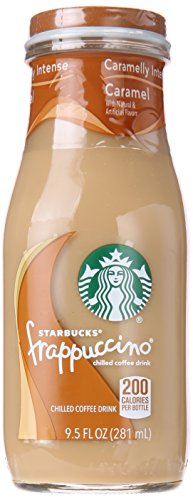 Starbucks Frappuccino Coffee Drink, Caramel, 4 ct
