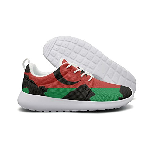 Price comparison product image Saerg Bearry Women's Azerbaijan Flag Map Lightweight Mesh Running Shoes Print Sneakers