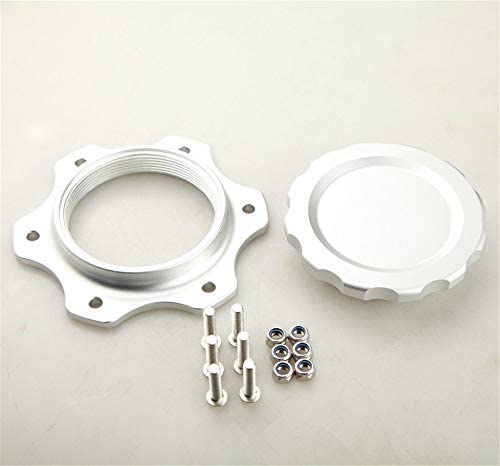 "4/"" OD 7613A Aluminum Fuel Cell Cap Assembly For JAZ Fuel Cells Black"