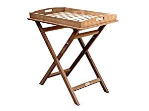 """Royal Teak TRST 18-1/2""""Tray On Stand"""
