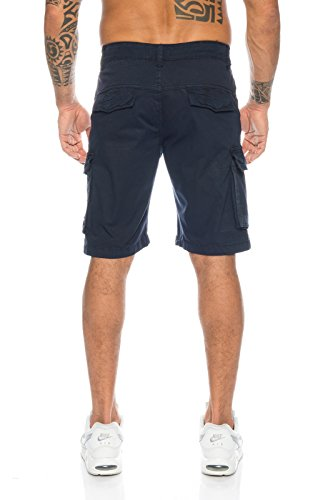 rock creek -  Pantaloncini  - Uomo blu navy 3XL