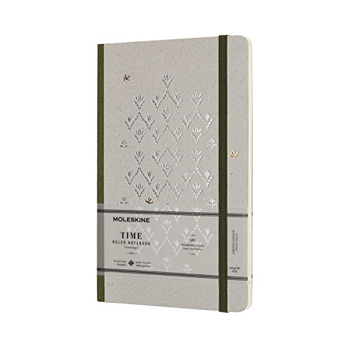 Moleskine Limited Collection Time Notebook, Hard Cover, Large (5