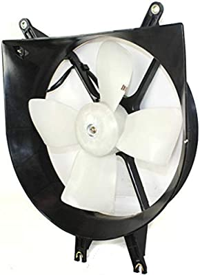 NEW RADIATOR FAN ASSEMBLY FITS 1992-1998 HONDA CIVIC 19015P08013