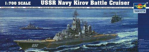 - Trumpeter USSR Navy Kirov Battle Cruiser Building Kit