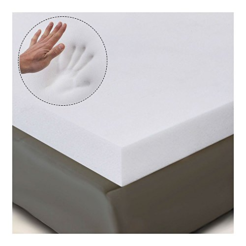 "3"" QUEEN SIZE MEMORY FOAM MATTRESS PAD, BED TOPPER 80""x60""x3"" from Unknown"