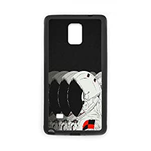 Samsung Galaxy Note 4 Case M, Doah, {Black}