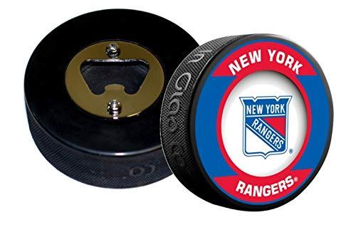 EBINGERS PLACE New York Rangers Retro Series Hockey NHL Puck Bottle Opener (Bottle Opener Retro)
