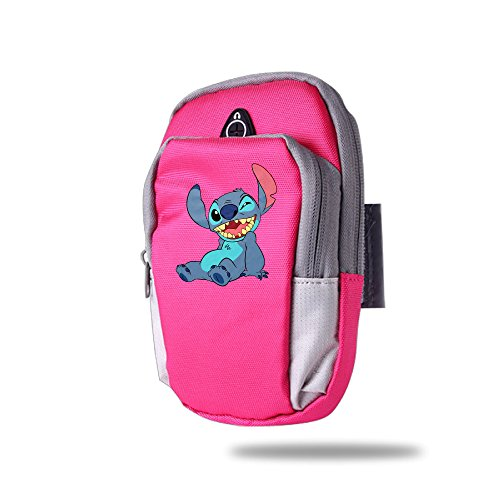 Lilo And Stitch Wink Casual Double Arm Pockets Mobile Phone Bag