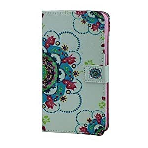 HJZ Samsung Galaxy Note 4 compatible Graphic/Special Design PU Leather Full Body Cases