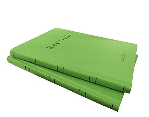 2x Green Military Log Books, Record Books, Memorandum Books, 8 X 10-1/2 Green Log Book NSN 7530-00-222-3525 by AbilityOne from AbilityOne