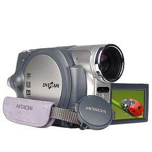 Hitachi DZ-BX37A 25xOptical 1200x Digital Zoom DVD Camcorder