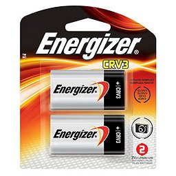 : Energizer EVEELCRV3BP2 Lithium Photo Battery