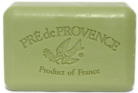 Marseille Olive Oil Soap - Pre de Provence Savon de Marseilles Olive Oil Soap - Case of 12 Bars,Green,250 Gram