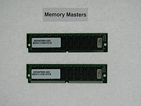 MEM-4700M-32D 32MB Approved 2x16MB DRAM upgrade for Cisco 4700M Series Routers (MemoryMasters) - 32 Mb Approved Memory