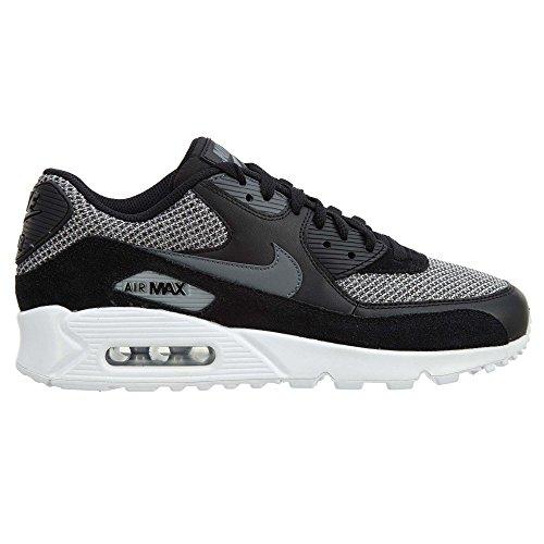 Chaussure De Running Nike Air Max 90 Essential Noir / Gris Foncé-gris Foncé