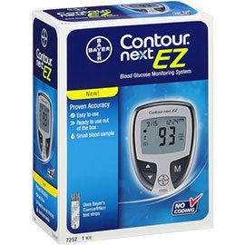 Contour-Next Bayer Blood Glucose Test Strips