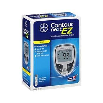 Amazon Com Bayer Contour Blood Glucose Meter Health