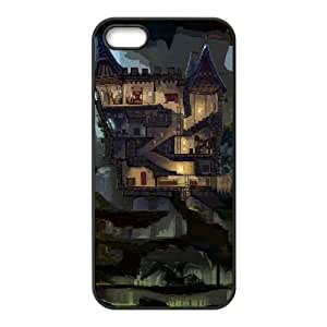the cave iPhone 5 5s Cell Phone Case Black 53Go-181743