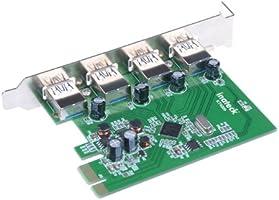 Amazon.com: Inateck 4 Ports PCI-E to USB 3.0 Expansion Card ...