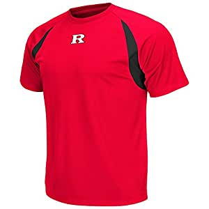 Mens NCAA Rutgers Scarlet Knights Athletic Performance Short Sleeve Tee Shirt_2XL