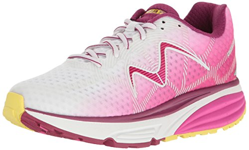 - MBT Women's Simba 17 W Sneaker, Pink/Yellow, 6 Medium US