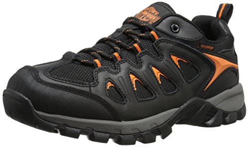 Harley-Davidson Men's Eastfield Waterproof Hiker, Black, 10 M US