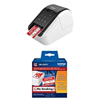 Brother QL-810W Ultra-Fast Label Printer with Wireless Networking