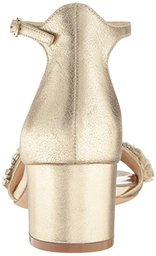 Dress Mischka Badgley Women's Platino Tamara Sandal xTqBYBzw
